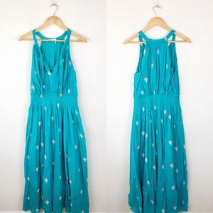 Floreat Anthropologie Skyscape Maxi Dress